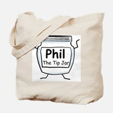 phil_label_zazzle Tote Bag