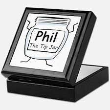 phil_label_zazzle Keepsake Box