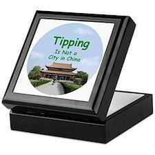 china_button_zazzle Keepsake Box