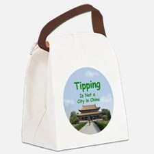 china_button_zazzle Canvas Lunch Bag