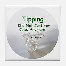 cows_button_zazzle Tile Coaster