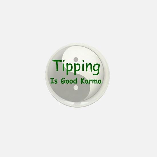 karma_label_zazzle Mini Button