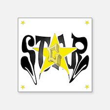 "5starg_edited-1 Square Sticker 3"" x 3"""