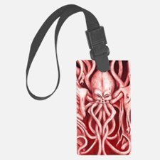 Cthulu large file Luggage Tag