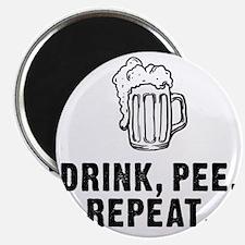 Drink Pee Repeat Magnet