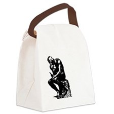 Let Me Drink About It White Canvas Lunch Bag