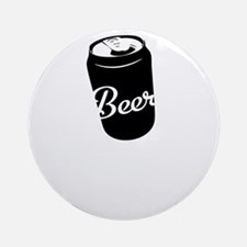 2-Beer So Much More Than Just A Bre Round Ornament