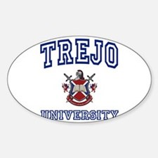 TREJO University Oval Decal