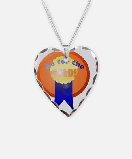 Go for the gold Necklace Heart Charm