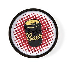 Retro Beer Wall Clock