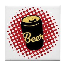 Retro Beer Tile Coaster