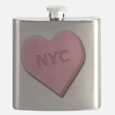 SWEETHEARTNYCPINK Flask