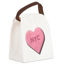 SWEETHEARTNYCPINK Canvas Lunch Bag