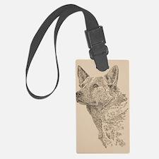 Australian_Cattle_Dog_KlineSq Luggage Tag