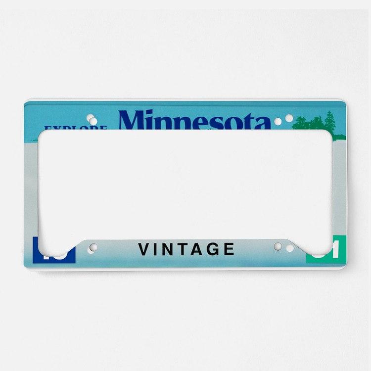 Minnesota60_2011 License Plate Holder