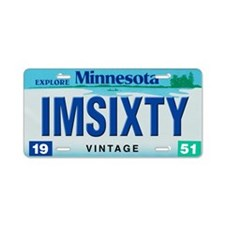 Minnesota60_2011 Aluminum License Plate