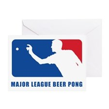 Major League Beer Pong 2 Greeting Card