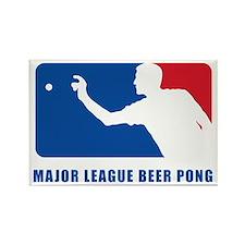 Major League Beer Pong 2 Rectangle Magnet