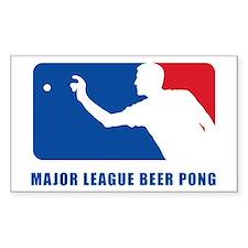 Major League Beer Pong 2 Decal