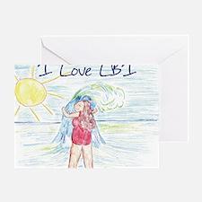 ilovelbiBig Greeting Card