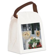 Caprese Lunch in Prague Canvas Lunch Bag