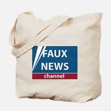 2-FoxNews-white Tote Bag