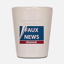 2-FoxNews-white Shot Glass