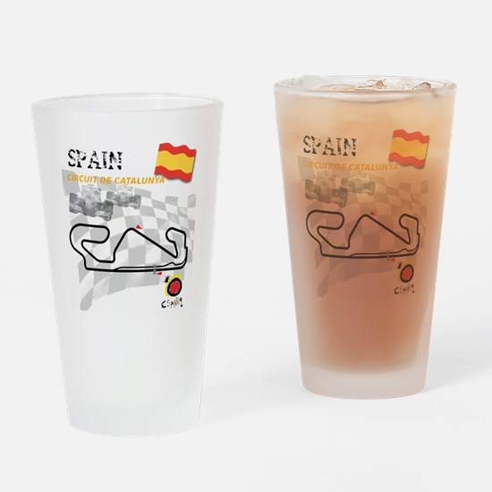 Catalunya Drinking Glass