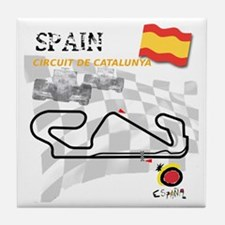 Catalunya Tile Coaster