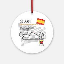 Catalunya Round Ornament
