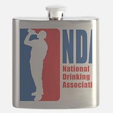 National Drinking Association Flask