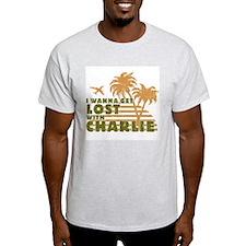 Charlie Ash Grey T-Shirt