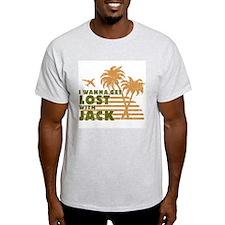 Jack Ash Grey T-Shirt