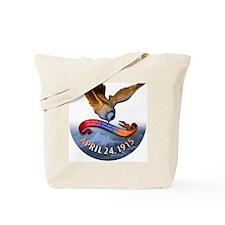 ZA_4.24.1915button4x Tote Bag