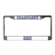 CHAMPAGNE University License Plate Frame