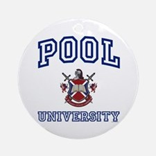 POOL University Ornament (Round)