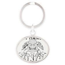 GTBhangin Oval Keychain