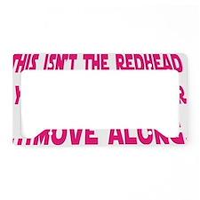 Starwars_Redhead License Plate Holder