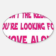 Starwars_Redhead Sticker (Oval)
