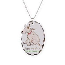 My BFF Necklace Oval Charm