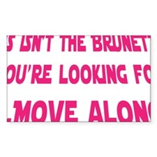Starwars_Brunette_ Bumper Stickers