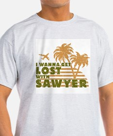 Sawyer Ash Grey T-Shirt