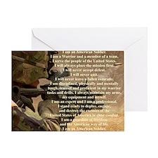 creed2321 Greeting Card