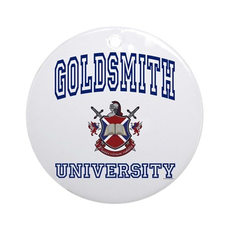 GOLDSMITH University Ornament (Round)