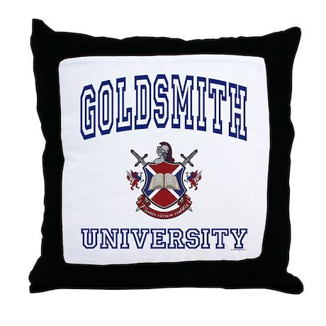 GOLDSMITH University Throw Pillow