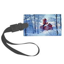The Old Red Mill  Luggage Tag
