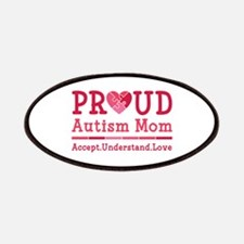 Proud Autism Mom Patches