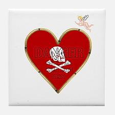 Anti-Valentine Tile Coaster