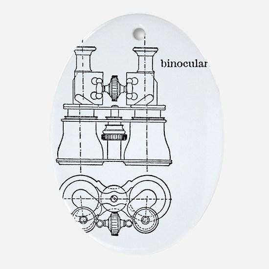 binocularsx300 Oval Ornament