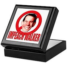 impeachwalker1 Keepsake Box